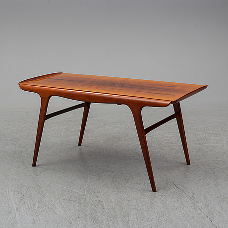 An 'expandette' coffee table, ab s ljungqvists möbelfabrik, habo, mid 20th century.