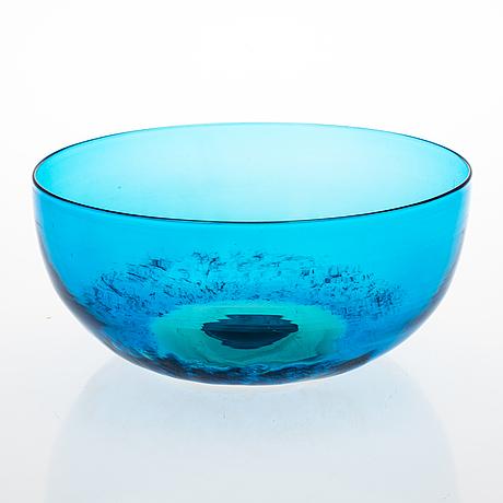 Tapio wirkkala, a bowl signed venini tw.