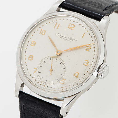 Iwc, international watch co, schaffhausen, wristwatch, 35 mm.