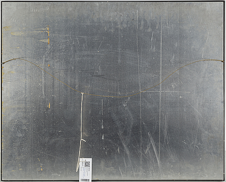 Ulf rollof, egg tem,pera, collage and mixed media on paper. executed 1984.