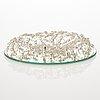 "Ru runebrg, a sterling silver candy plate ""sugar ants"". vaasa 2010."