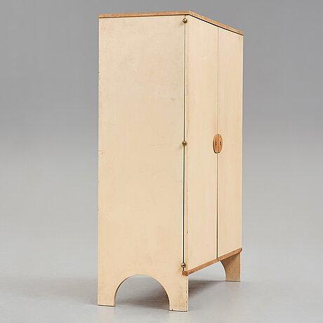 Josef frank, a painted cabinet, svenskt tenn, sweden ca 1935-36.