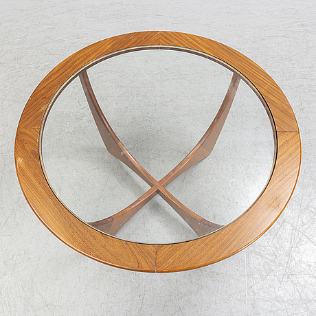 A british teak 'astro' coffee table from g-plan, 1960's.