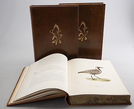 "M, w & f von wright, ""svenska fåglar"" i-iii, stockholm 1927-1929."