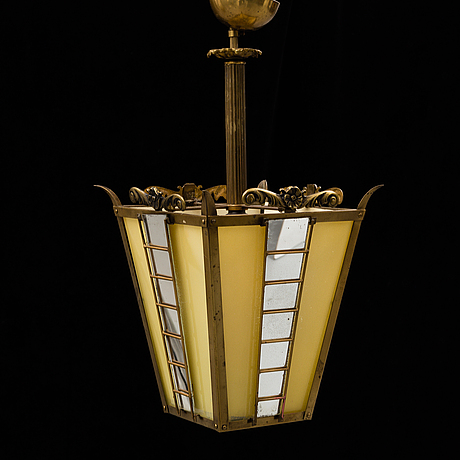 A ceiling lamp from the first half of the 20th century.