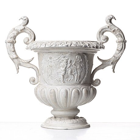 A swedish baroque urn, ca 1700.