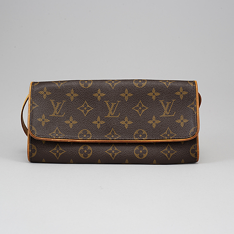 "Louis vuitton, väska, ""pochette twin gm""."