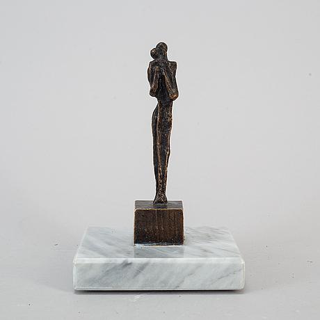 Liss eriksson, sculpture bronze, signed.