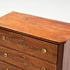 A gustavian style chest of drawers, first half of the 20th century.
