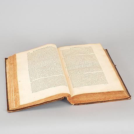 Book, 1 vol. 'les recherches de la france' estienne pasquier, paris 1665.