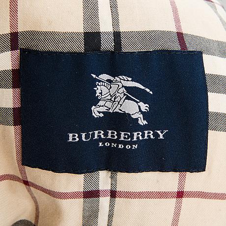 Burberry, jacka, storlek l.