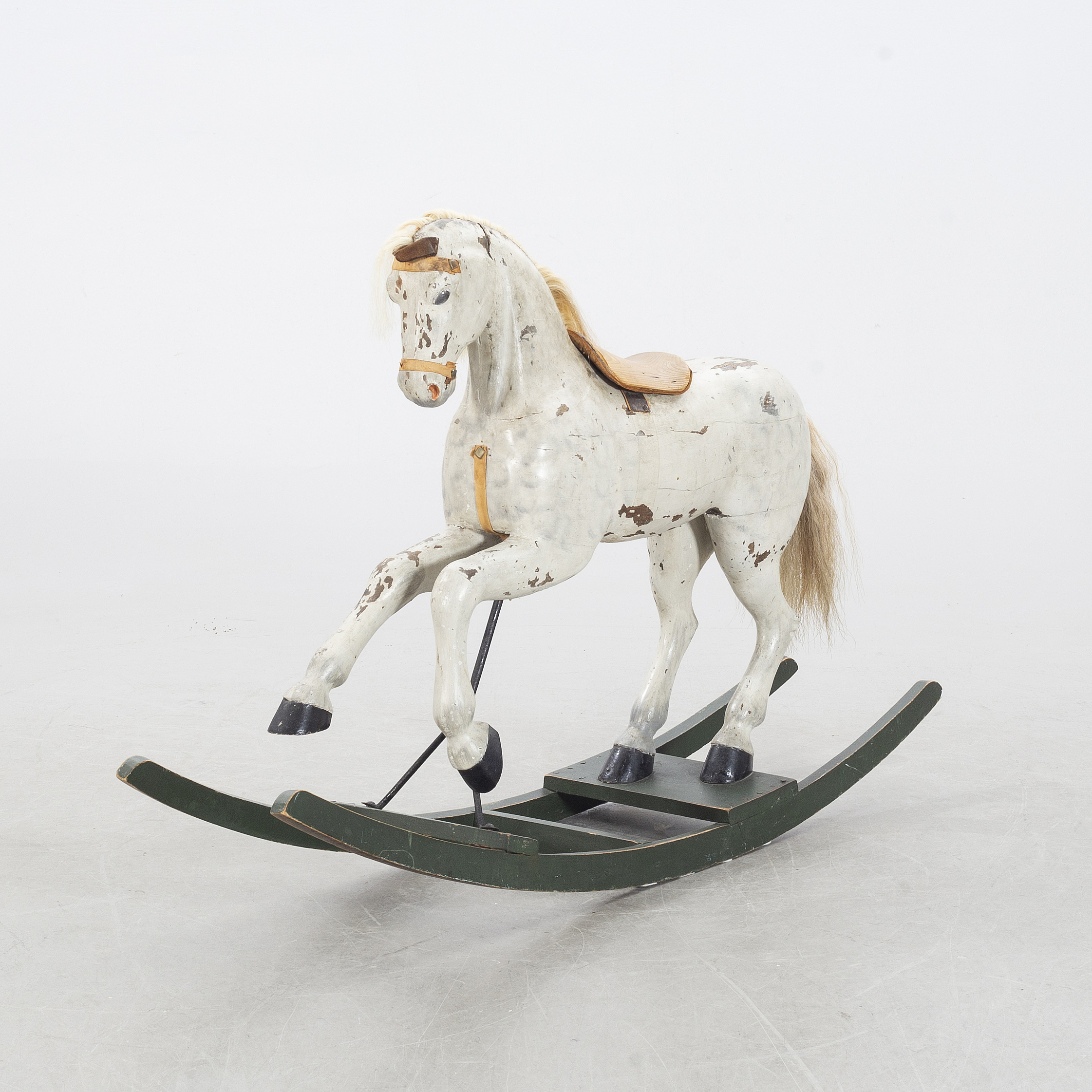 A Painted Wood Rocking Horse Early 20th Century Bukowskis
