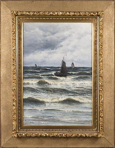 Thorsten waenerberg, the return of the fishermen.