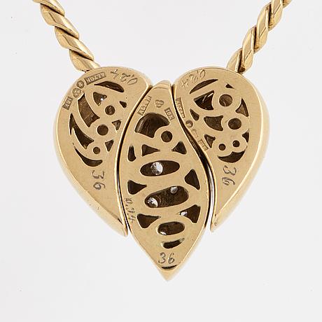 """Per dåvik for alton, a necklace """"millenium""""."""