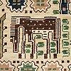 "Märta måås-fjetterström, a carpet, ""hästhagen"", knotted pile, ca 246 x 165 cm, signed ab mmf."