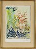 Salvador dalÍ, lithograph in colours, signed and numbered 25/250.