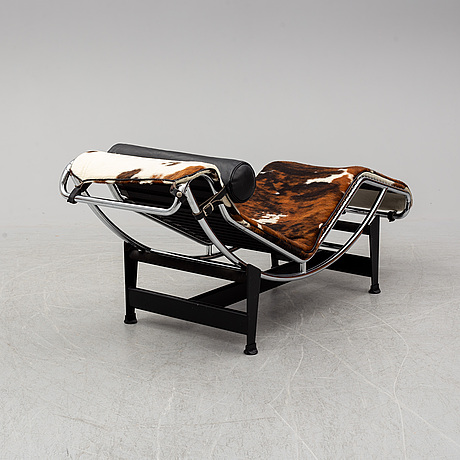 Le corbusier, pierre jeanneret, charlotte perriand an lc4 chaise longue, cassina, italy.