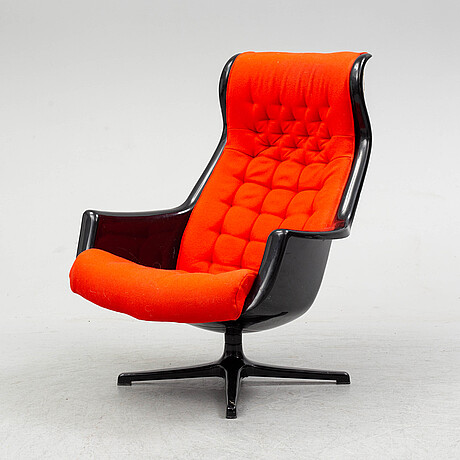 Alf svensson & yngve sandstrÖm, a 'galaxy' swivel easy chair from dux.