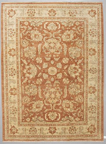 A carpet, ziegler design, ca 303 x 226 cm.