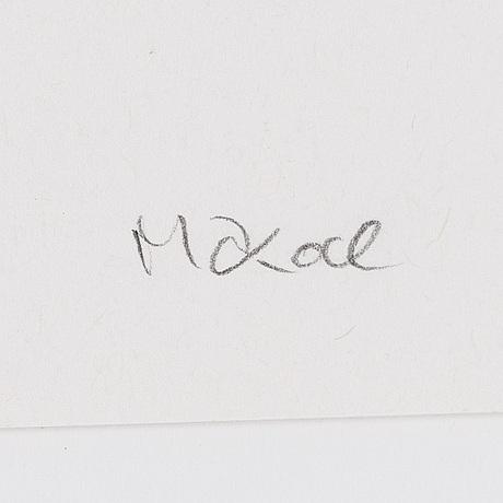 Makode linde, litograph, signed and numbered 25/165.