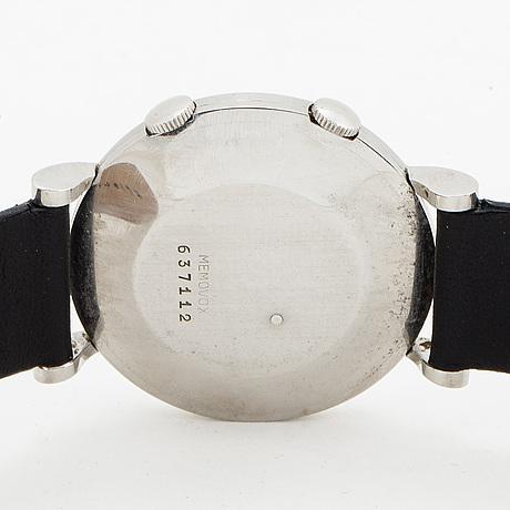 Jaeger lecoultre, memovox, wristwatch, 34 mm.