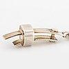 ClaËs e. giertta, pendant with chain.