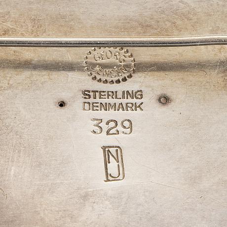 Georg jensen, nanna & jorgan ditzel, brooch, silver.