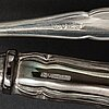 30 psc silver cutlery 'romantica', finland.