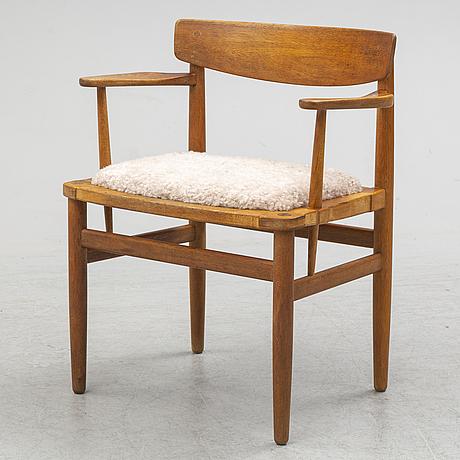 BØrge mogensen, an 'Öresund' oak armchair from karl andersson's.