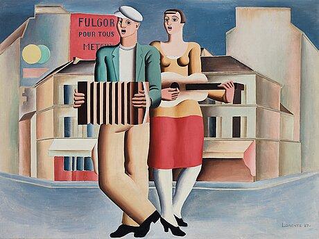 Waldemar lorentzon, street musicians.
