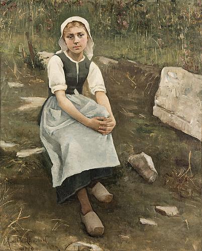 Amelie lundahl, a girl from bretagne.