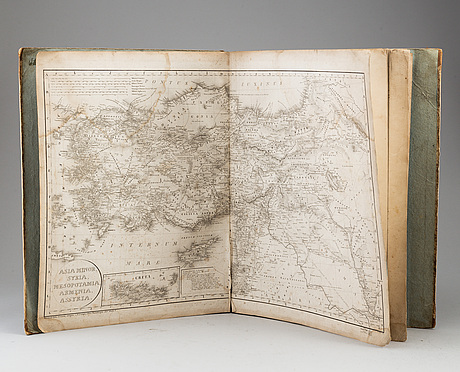 Maps/engravingfs, early 19th century.