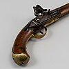 A swedish flint-lock pistol, seconf half 18th century.