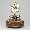 A 20th century table clock.