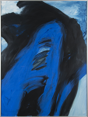 Kari walden, oil on canvas, signed and dated -85.