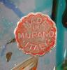 Skulptur, glas. murano italien. cendese.