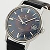 Omega, geneve, wristwatch, 34.5 mm.