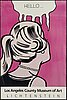 Roy lichtenstein, after, exhibition poster, los angeles county museum of art.