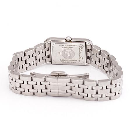 A raymond weil 'tango' wrist watch. 18.6 mm.