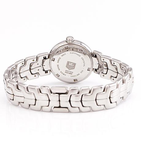 A tag heuer link, wrist watch, 28 mm.