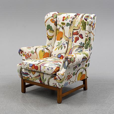 An 'oxford' armchair by stjernmöbler herrljunga. second half of the 20th century.