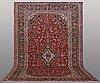 A carpet kashan, ca 480 x 305 cm.