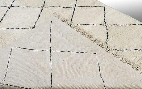 A carpet, morocco, ca 355 x 256 cm.