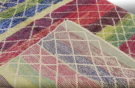 A carpet, morocco, ca 314 x 200 cm.