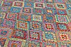 A carpet, kilim, ca 383 x 305 cm.
