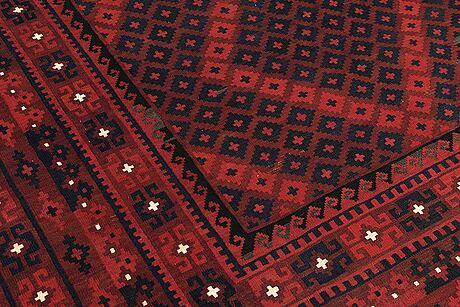 An afghan kilim ca 402 x 282 cm.