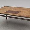 A danish wengé wood desk, 1960's/70's.