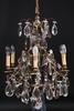 Ljuskrona, rokokostil, tidigt 1900-tal. h 65.