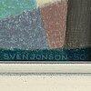 Sven jonson, olja på duk, signerad.