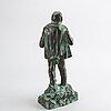 Axel ebbe, a signed bronze sculpture.